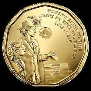 Women's Right to Vote Loonie
