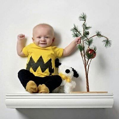 Cartoon Charlie brown Yellow Black Zig Zag Toddler Boys Shirt Halloween Costume - Charlie Brown Costume Toddler