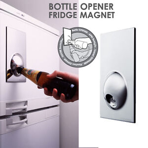 Fridge magnet bottle opener ebay - Bottle opener wall mount magnet ...