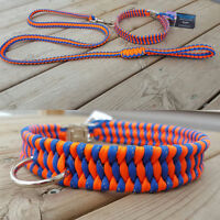 Handcrafted Paracord Dog Collars/Leashes