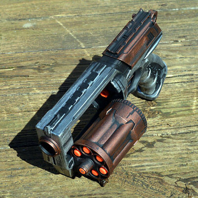 Steampunk Pirate Nerf Gun Zombie Blaster Victorian Fallout Cosplay Time Traveler