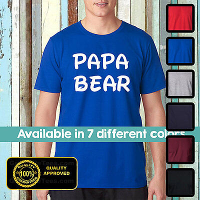 Papa Bear Shirt, Papa, Dad, Funny Father Shirts, Best Dad Ever, Gifts For