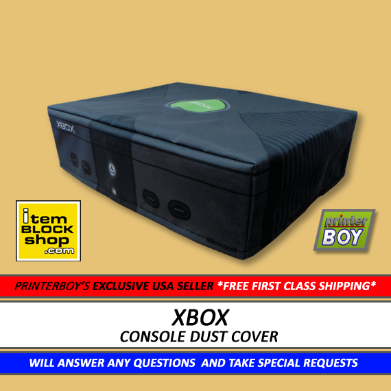 Original XBox Console System Dust Cover (Exclusive eBay US Seller) VINYL