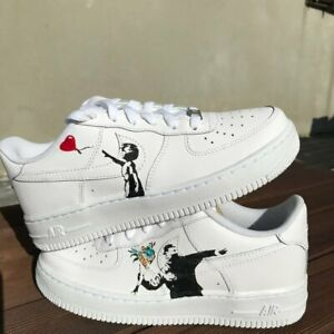 Banksy Custom Air Force 1