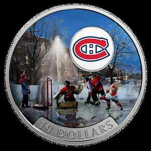 2017 $10 Pure Silver Coin - Passion to Play: Montreal Canadiens®