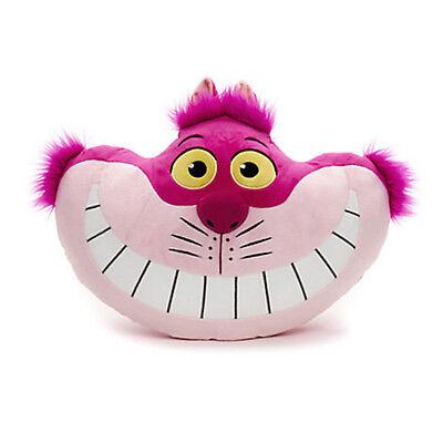 Cheshire Katze Plüsch (Or.Disney Grinsekatze Kissen Plüsch Alice im Wunderland Cheshire Katze NEU)