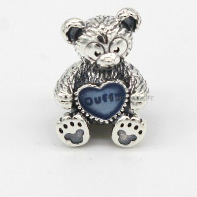 Genuine PANDORA Silver Disney Parks Exclusive Duffy CHARM 792129EN128  Exclusive Genuine Pearl