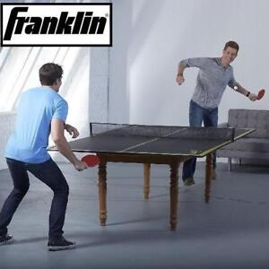 NEW* FRANKLIN CONVERSION TOP  NET 54092X 225448075 PING PONG TABLE TENNIS TABLES GAMES CONVERSION