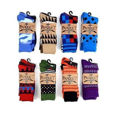 Parquet Mens Fancy Dress Socks - 3 - Fancy Dress Pairs