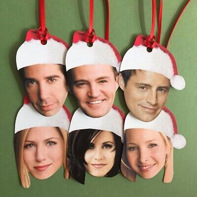 Friends Tv Show Characters Holiday Christmas Gift Tags ()