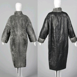 Persian Lambswool reversible winter coat