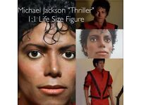 Michael Jackson 1:1 SALE Life Size Prop Figure MJ Replica King Of Pop Thriller