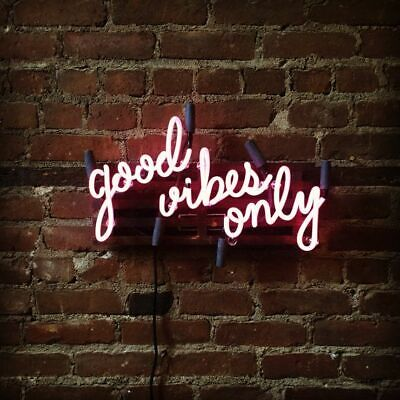 Custom Party good vibes only Gift Drinking Store Beer Bar Neon Sign Wall Decor  - Party Good Store