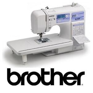 NEW BROTHER HC1850 SEWING MACHINE COMPUTERIZED 130 BUILT IN STITCHES - ARTS CRAFTS SEWING MACHINES PRESSER FEET