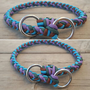 Handmade Paracord Dog Leashes and Collars