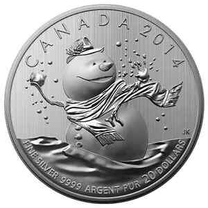 20$ 2014 Silver Coin for sale.