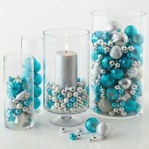 Looking for Blue and Silver Small Christmas Bulbs