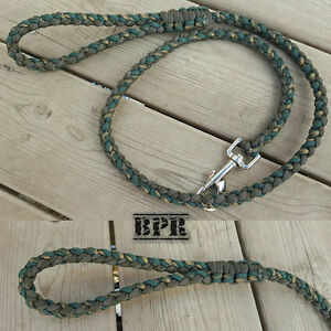 Handcrafted Paracord Dog Leads/Collars
