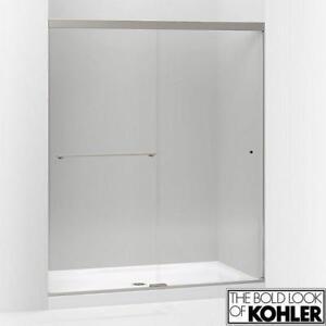 "NEW KOLHER REVEL SHOWER DOORS K-707206-L 136044460 59.63"" x 76"" DOUBLE SLIDING BATHROOM SHOWERS DOORS BATHTUB BATHTUB..."