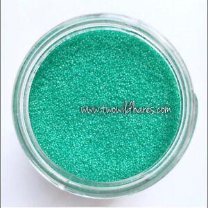 JOJOBA BEADS GREEN, 20/40 Exfoliant, Biodegradable, Eco Friendly, USA Made, 1oz