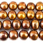 Copper Brown Round Jewelry Making Beads