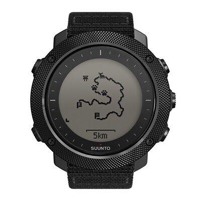 Suunto Traverse Alpha Stealth Mens Gps Outdoor Fish   Hunting Wrist Watch Black