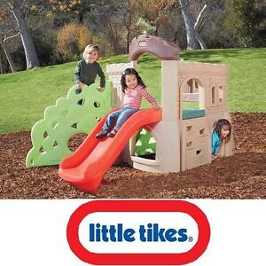 NEW LITTLE TIKES ROCK CLIMBER SLIDE INDOOR OUTDOOR PLAYSET PLAYGROUND PRESCHOOL PLAY STRUCTURES TODDLER TOYS SLIDES