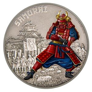 5-Coin 1 oz. Fine Silver Warriors of History (2016)