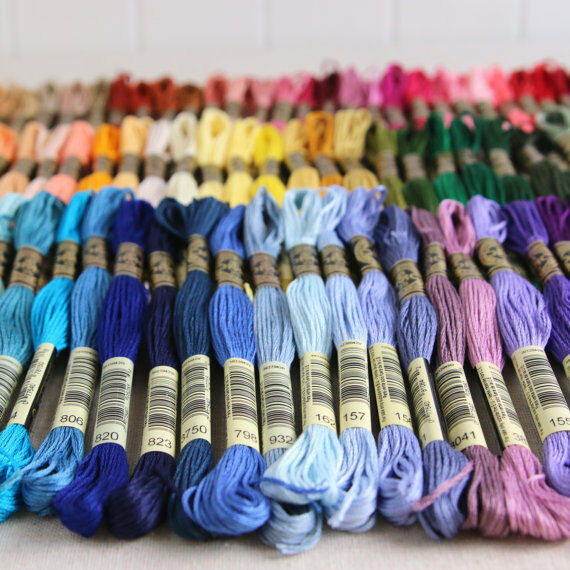BRAND NEW  DMC Floss ** 12 Skeins for $9.99 **Pick Your Colo