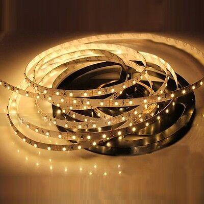 5M 300Leds Warm White SMD 3528 Led Strip Lights Flexible Ribbon Decoration Roll