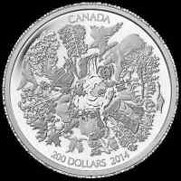 $200 SILVER TOWERING FOREST COIN