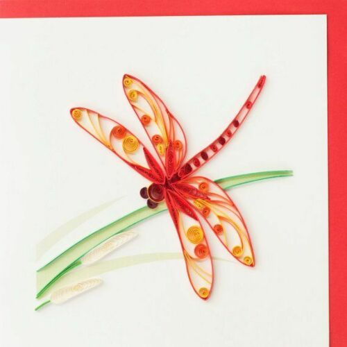 Quilling Card Handmade  -  Dragonfly