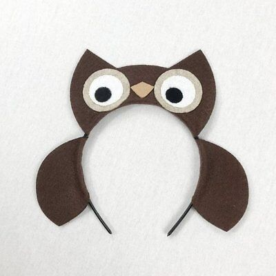 Owl headband birthday party favors woodland camping forest supplies - Owl Birthday Supplies