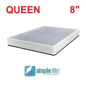 NEW SIMPLE LIFE FOLDING BOXSPRING QUEEN - FOLDABLE FOUNDATION FOUNDATIONS BED BEDS BOX SPRING BEDROOM BEDDING 104603560