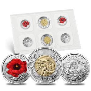 Royal Canadian Mint - Coin Packs - 150th Anniversary Sets