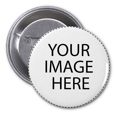 Custom 2 BUTTONS or MAGNETS or MIRRORS your photos designs pins badges pinback