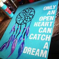 Hand Painted Canvases!