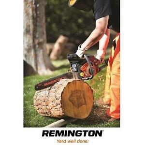 "NEW* REMINGTON 18"" 51cc CHAINSAW - 124656462 - 2 CYCLE 51cc 18"" CHAINSAWS GAS POWERED POWER TOOLS SAW SAWS LANDSCAPIN..."