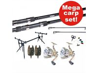 Full carp fishing set up *brand new*