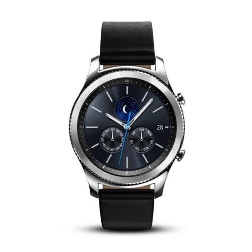 Samsung Gear S3 Classic Smartwatch 46mm Stainless Steel Verizon Silver SM-R775VZSAVZW