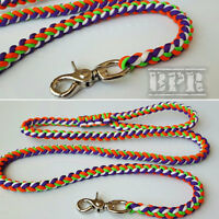 Handcrafted Paracord Dog Leashes/Collars/Slip Leads