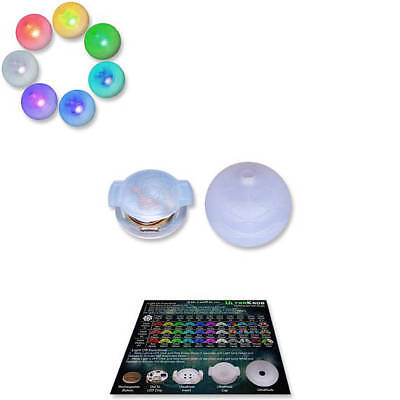 Led Toys For Raves (UltraPoi - UltraKnob LED Handle (Individual) For Flow Poi Knob Raves and)