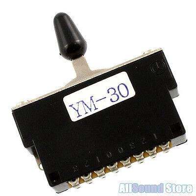 NOS Genuine Fender Japan Black Guitar Toggle Switch Tip 026-4953-000