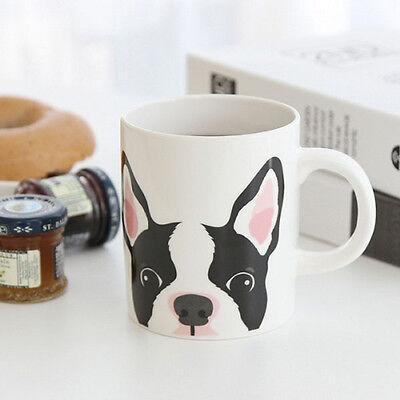 Puppy Mug_Boston Terrier coffee mug cute mug unique dessert mug modern tea cup