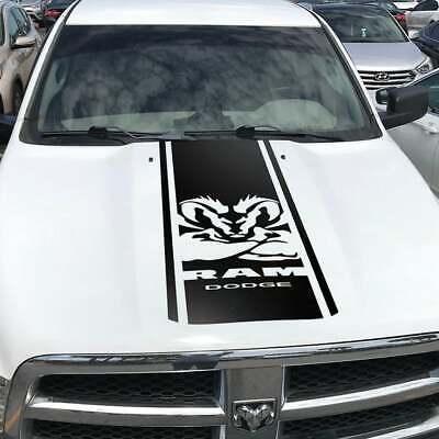 Dodge Ram 1500 2500 350 Hemi hood decal Decal Racing Vinyl Stripes Sticker #12