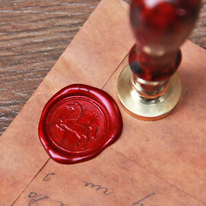 Horse Wax Seal Stamp animal Sealing wedding brass invitation wax Stamp WS010
