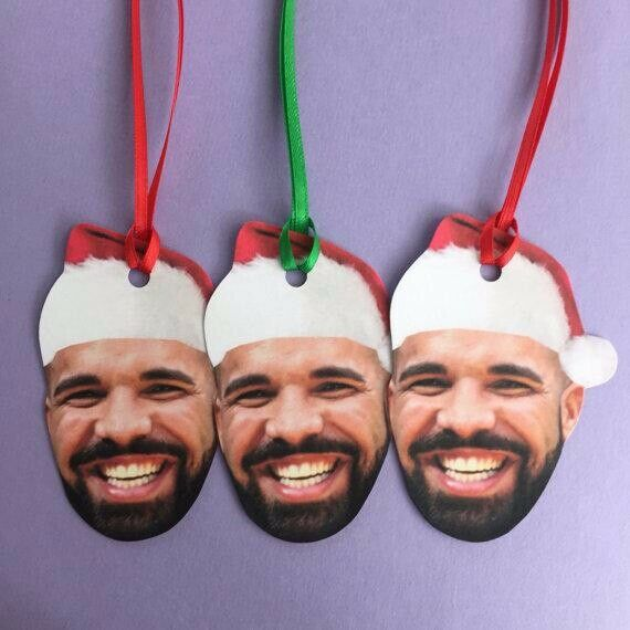 New Drizzy Drake Christmas Holiday Gift Tags Funny