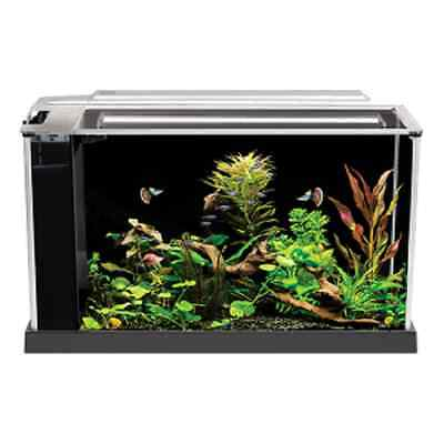 Fluval Spec V Aquarium 5 gallon  black  Desktop Glass Aquarium