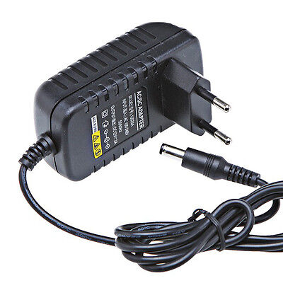 AC 100-240V To DC 12V 2A Switching Power Supply Converter Adapter US/EU/UK Plug on Rummage