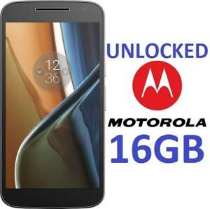 "OB MOTOROLA MOTO G4 PHONE 16GB 00969NARTL 156296969 5.5"" UNLOCKED ANDROID SMARTPHONE 4G LTE CELL PHONE OPEN BOX"